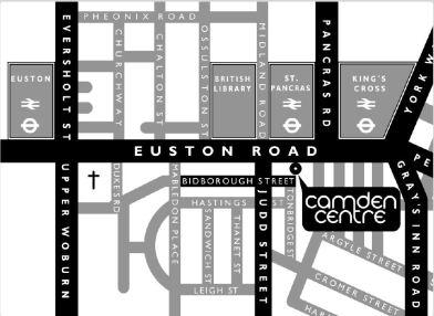 camden centre map